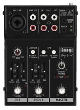 Stageline MMX-11USB Compact USB Professional Mixer Mixing Desk Live Sound Studio