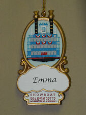 PERSONALIZED SHOWBOAT BRANSON BELLE ORNAMENT AND MAGNET - BRANSON, MO