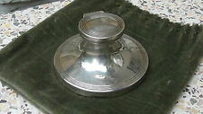 ANTIQUE  ENGLISH STERLING SILVER  INKWELL,HALLMARKED