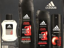 Adidas TEAM FORCE Body, Hair wash, After Shave, Deo Body Spray Set