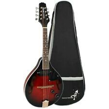 Rocket Electro Acoustic Mandolin with Gigbag - Redburst
