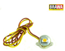 BRAWA 94700 Beleuchtungssockel rund LED Warmweiß