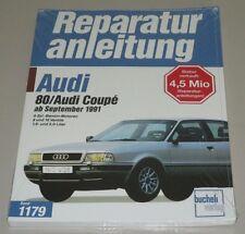 Reparaturanleitung Audi 80 + Coupe B4 Typ 8C Benzin 8V + 16V 1,6 2,0 Liter NEU!