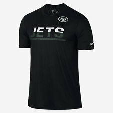 Nike Men's Lg - Nfl Ny Jets Team Practic Shirt - Black 779732 010 large