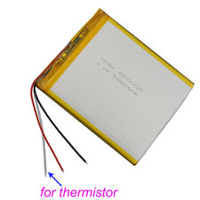 3.7V 5000mAh 3 wires thermistor Polymer Li ion battery 4594105 for Tablet PC PAD