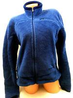 Vtg Patagonia Womens Jacket Regulator Fleece Coat Full Zip Pockets Made USA Sz L