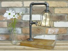 Vintage Industrial LED Single Bulb Metal Fairy Lights Lamp Battery Operated