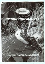 IBANEZ 1999 Electric Guitar & Bass Instruction Manual, Korea, Good Condition