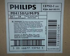(BOX OF 24)  Philips MH150/U/M/PS Pulst Start Metal Halide Lamps, 13752-1 CASE