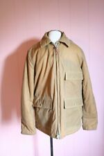 J Crew Waxed Worker Jacket Thinsulate M Medium Sweet Caramel Brown $388 NWT