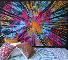 Twin Hippie Forest Tree Tapestry Indian Wall Hanging Bedspread Tie Dye Throw Art