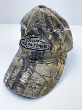 Team Realtree Camo Fitted Baseball Hat Cap Size S-M Perfect Fit