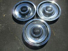 Genuine 1974 to 1976 Buick Riviera deluxe hubcaps wheel covers mint