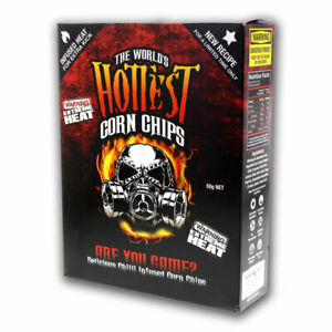 World's Hottest Corn Chips - Carolina Reaper & Scorpion Extreme Chillies - Seed
