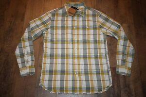 The North Face Men's Hayden Pass 2.0 L/S Shirt Size M (Gardenia White Plaid) NWT