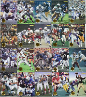 1995 Collector's Edge Football Time Warp Prism Insert Set #1-20 Rare