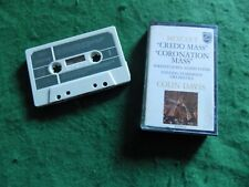 Classical cassette: MOZART Coronation Mass Philips