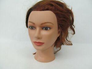 Cosmetology Mannequin Head Hair Stylist – Used/Styled #8 Marianna Miss Suzie Kin