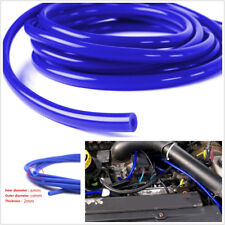 ID 6mm OD 10mm Blue Car Autos Silicone Vacuum Tube Hose Silicone Tubing 5Meters