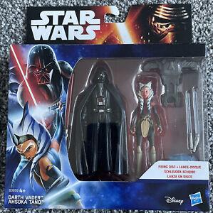 Star Wars Darth Vader & Ashoka Tano - Brand New and Sealed - B3959 - Hasbro
