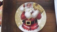 Weihnachtsteller Plätzchenteller Weihnachten Deko Kunststoff PVC Teller