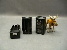 18650 video digital camera travel charger dual 100-240VAC Lot of 3