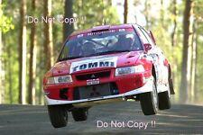 Tommi Makinen Mitsubishi Lancer Evo 6.5 1000 Lakes Rally 2001 Photograph 2