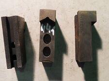 3 Backen Blockbacken Aufsatzbacken f. Dreibackenfutter Drehmaschinenfutter #0440