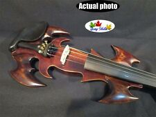 "Hand carved SONG Brand master electric viola 15"", crazy -1 streamline model"