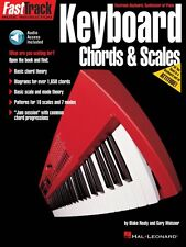FastTrack Keyboard Method Chords and Scales Music Instruction Book NEW 000697292