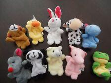 Baby Animals Plush Finger Puppets