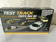 Disney Theme Park HO Slot Car Test Track Electric Race Set  2000 new