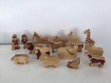 Lanke Kade Wooden Zoo Animals & Zookeepers
