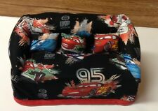 """Disney """"Cars"""" Fabric Sofa Couch Tissue Box Cover With Little Pillows"""