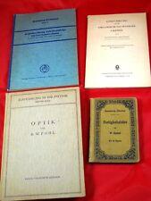 Konvolut - Physik, Optik, Chemie, Mathematik - alte Bücher im Paket Sammlung