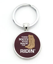 HORSE & WESTERN GIFTS ACCESSORIES BOOTS MADE FOR RIDIN' WESTERN RIDERS KEY RING