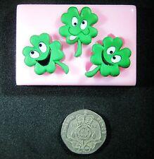 Lucky 4 Feuilles de Trèfle St Patrick moule par fairie bénédictions