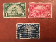 Stamps, Usa, Sc#614-615, Mlh, 616 used