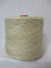 "Wolle Kone 1,6Kg 8,83€/Kg""natur""Flammengarn CO/Leinen  Nm 18/2 -auch Hand"