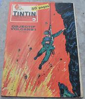 Journal Tintin n°575, 29 octobre 1959, spécial volcans