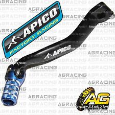 Apico Black Blue Gear Pedal Lever Shift For Yamaha YZF 250 2002 Motocross Enduro