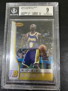 Kobe Bryant 1996/97 Bowmans Best Rookie RC🔥BGS 9 Mint🔥Rare👀👀💰