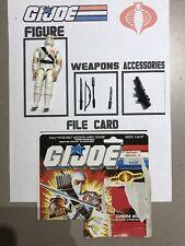 1984 GI Joe Cobra Storm Shadow V1 Loose Vintage Used ARAH ***READ*** Arashikage
