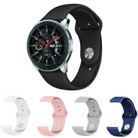 18mm 20mm 22mm Quick Fit Soft Silicone Sport Watch Band Strap For Samsung Garmin