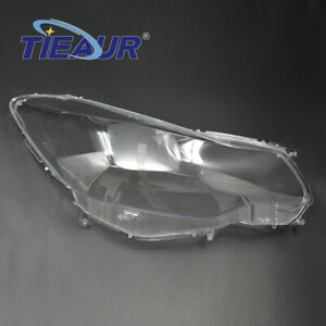 Left Headlight Lens Cover Clear Lampshade (2012-2016) Fit For Subaru XV Impreza