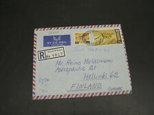 Kenya 1970 registered airmail cover to Finland *30174