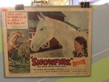 SNOWFIRE-LOBBY CARD 3-1958