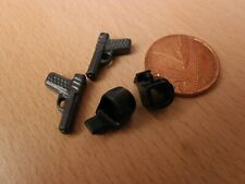 Toy Plastic Hand Guns & Clip-in Holsters for Police Playmobil Police Spares
