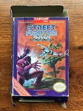 Street Fighter 2010 Final Fight NES Nintendo Empty Box Only