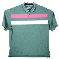 Nike Golf Tour Performance Mens Dri-Fit Short Sleeve Polo Golf Shirt XL